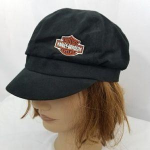 Harley-Davidson Patrol Cap Black Orange Shield
